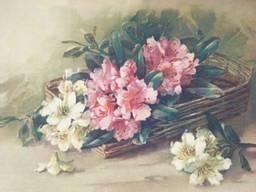 Картина репродукция Цветы