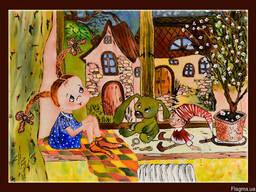 Картины батик в Днепропетровске