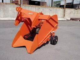 Картофелекопалка однорядная (транспортерная) для трактора