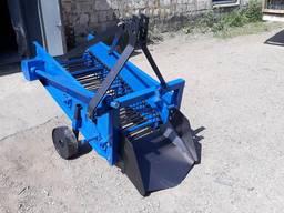 Картофелекопалка транспортерная для мини трактора