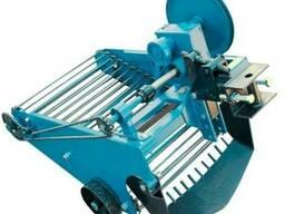 Картофелекопатель транспортёрный для мототрактора с гидр.