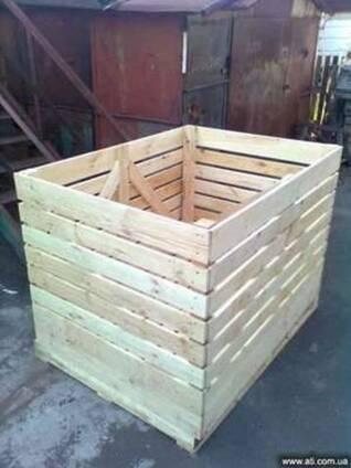 Картофельные контейнера голландского типа