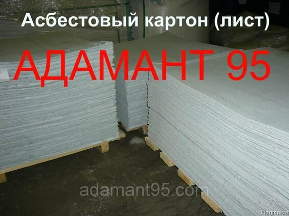 Картон асбестовый общего назначения КАОН, лист, толщина 2-10