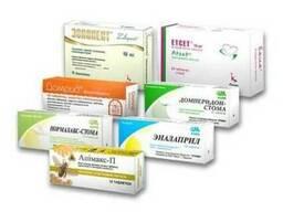 Картонная упаковка Киев для лекарств и биодобавок