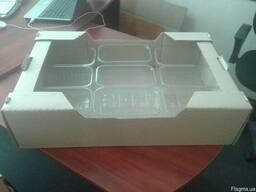 Картонный лоток под пинетку. Пластиковая пинетка 0, 500 кг