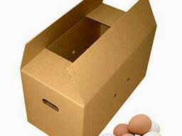 Картонный ящик для яиц