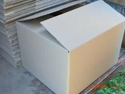 Картонные гофро ящики , коробка б/у ( пятислойная)