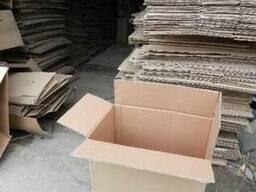 Картонные коробки б\у,гофротара, ящик нас вес недорого!!!