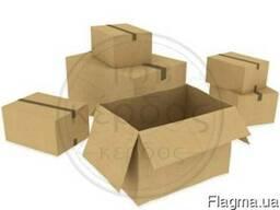 Картонные ящики для подсолнечного масла.