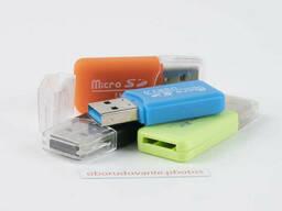 Картридер USB 2.0 microSD