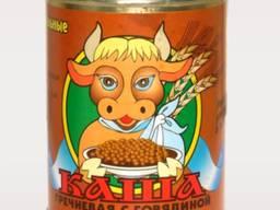 Каша Гречневая с говядиной про-во Беларусь