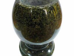 Кашпо для цветов из натурального камня (Маславский гранит)