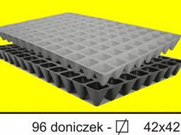 Кассеты для рассады на 54, 77, 96, 160, 260 ячеек600*400(Polska)