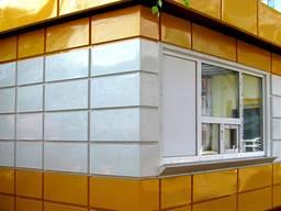 Кассеты фасадные, панели