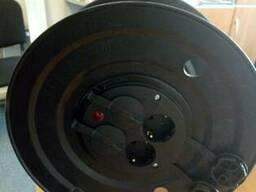 Котушка переносна, 50м (3х2, 5 ПВС) з розетками 4 шт 16А, IP4