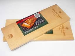 Кедровая доска для гриля BisonGrill (2 шт) 25х15 см