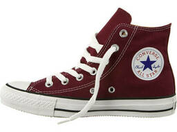 Кеды Converse All Stars Bordeaux High M9613 (бордовые)