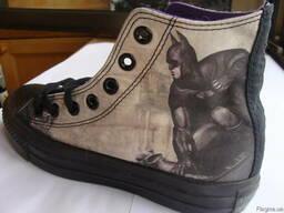 Кеды Converse DC Comics, 36,5 размер. Оригинал, эксклюзивная