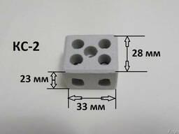 Колодка керамическая, соединительная, КС-2