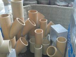 Керамические (шамотные) дымоходные трубы Wulkan