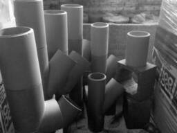 Керамические (шамотные) дымоходные трубы Wulkan - фото 2