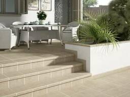 Керамические ступени, керамическая плитка для крыльца, ступе