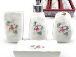 """Керамический набор для ванной комнаты """"Виола"""""""
