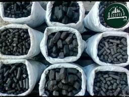 Керамо брикет! На 100% заменяет уголь антрацит!