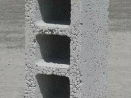 Керамзитоблок стеновой пустотелый М-50