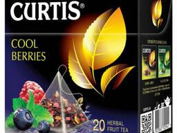 Кертис чай фруктово-ягодный с мятой Cool Berries в. ..
