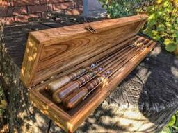 Кейс для шампуров. Коробка под шампуры из дерева