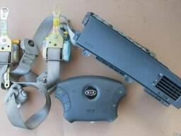Kia Opirus Airbag подушки безапасности ремни