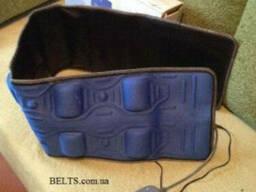 Новинка. Широкий вибро магнитный пояс waist belt Pangao PG-20