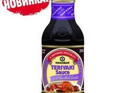 Киккоман соус Терияки с жареным чесноком