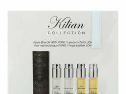 Kilian Набор 4x7. 5ml Apple Brandy, Lemon in zest, Noir Aphrodisiaque, Royal Leather