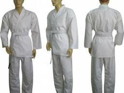Кимоно,костюм для занятий карате, дзюдо. спортом, от 10 шт