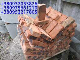 Кирпич красный строительный рядный М-100, М-75