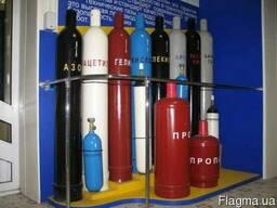 Кислород, углекислота, аргон, ацетилен, азот