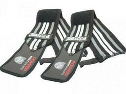 Кистевые бинты Power System Wrist Wraps PS-3500 Grey-Black SKL24-145360