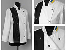 Китель, брюки, фартук, колпак, поварские костюмы, пошив под заказ