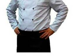 Китель поварской с длинным рукавом, униформа для пекарей
