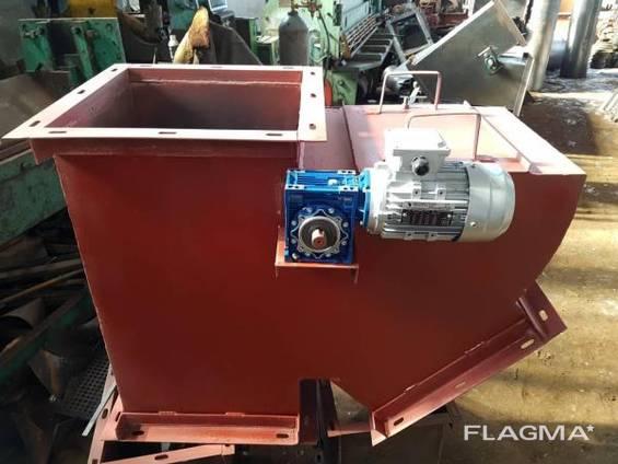 Клапан маятниковый перекидной , самотечное оборудование