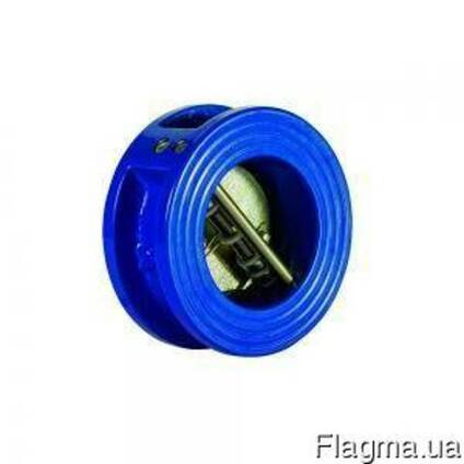 Клапан обратный межфланцевый двустворчатый Ру16