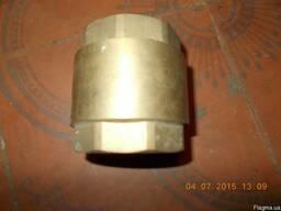 Клапан обратный муфтовый бронзовый пружинный DN15-DN50 PN16