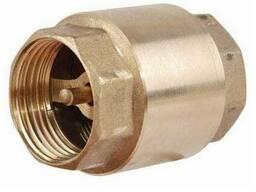 Клапан обратный муфтовый с латунным штоком