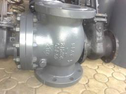 Клапан обратный поворотный 19с53нж КОП ду150 ду40