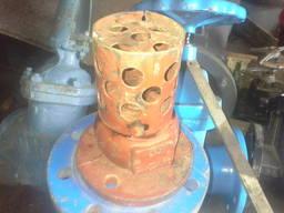 Клапан обратный приемный с сеткой 16ч42р чугунный Ду 50