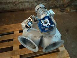 Клапан перекидной д. 200 односторонний КОР с электроприводом