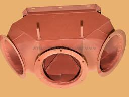 Клапан перекидний НК-50 на 3 виходи д. 200 (дракон) s-2, 0