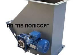 Клапан перекидний 300х300 з мотор-редуктором